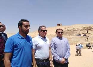 الكشف عن مقبرة مزدوجة بمنطقة الأهرامات يرجع تاريخها للأسرة الخامسة