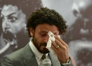"""بالفيديوI الوجه الآخر لـ""""الكابيتانو"""".. 4 مواقف بكى فيها حسام غالي"""
