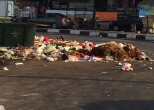 بالصور| القمامة تفسد فرحة المصلين في الإسماعيلية بأول أيام العيد