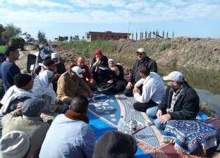 ندوتة إرشادية عن محصول القمح في كفرالشيخ لتوعية المزارعين