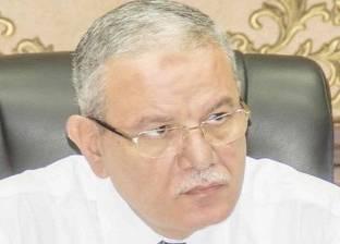 محافظ المنيا يتفقد شوارع وسط المدينة لإعادة تنظيم خطوط سير السيارات