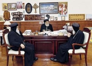 البابا يبحث تطورات السودان مع أسقفى الخرطوم وأم درمان
