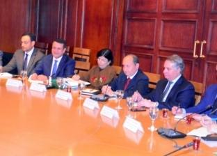 """مباحثات مكثفة لـ""""نصار""""مع نائب رئيس وزراء أرمينيا ومفوضة التجارة بالاتحاد الأوراسى"""