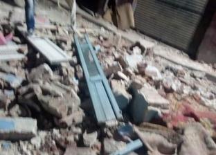 إصابة شخصين وتهشم 3 سيارات إثر انفجار أسطوانة بوتجاز في عقار بشبرا