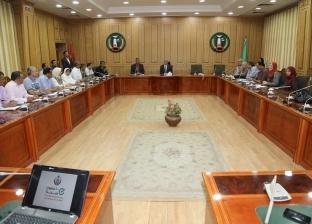 """محافظ المنوفية يعقد اجتماعا لمناقشة تنفيذ مبادرة """"100 مليون صحة"""""""