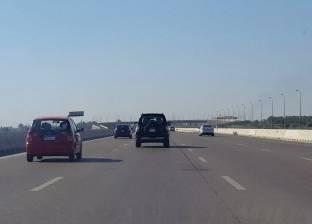 """""""المرور"""": كثافات منخفضة على الطرق السريعة والصحراوية"""