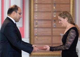 بالصور  السفير أحمد أبوزيد يقدم أوراق اعتماده ممثلا لمصر في كندا