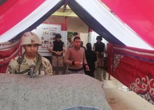 إقبال ملحوظ في الساعة الأولى من الاستفتاء بلجان شبرا الخيمة