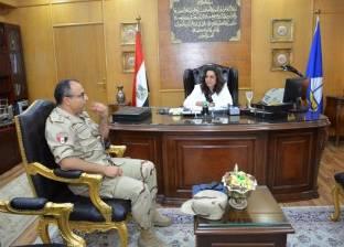 المستشفى العسكري بدمياط يستضيف خبيرا أجنبيا في جراحة العمود الفقري