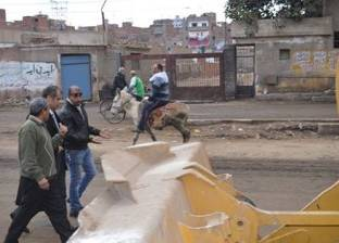 بالصور| رئيس مدينة المحلة يوجه بإجراء حملات نظافة ورفع أكوام القمامة