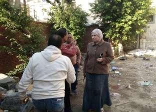 رفع كفاءة المشاتل وزيادة المساحات الخضراء بحي الجمرك بالإسكندرية