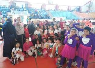 """طلاب مدارس شمال سيناء ينظمون مهرجان """"سيناء آمنة"""" بالعريش"""