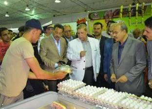 """ضخ مزيد من السلع التموينية بـ""""أهلا رمضان"""" في الإسماعيلية"""