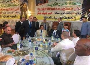 ذبح 4 عجول في مأدبة إفطار لـ2200 من أسر حفظة القرآن والشهداء بالمحلة