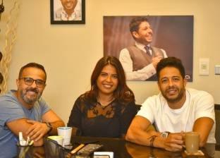 بالفيديو| محمد حماقي يتعاقد مع حمدي بدر لإدارة أعماله