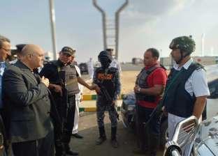 أمن القاهرة: خدمات لتسهيل المرور تزامنا مع إنشاء الخط الثالث للمترو