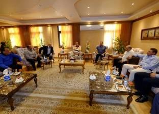 """""""مميش"""": الرئيس السيسي يفتتح 20 مصنعا في العين السخنة فبراير المقبل"""