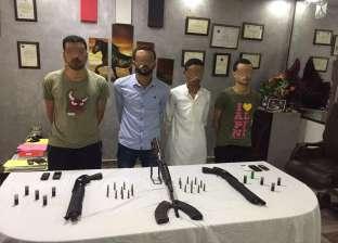 """القبض على تنظيم """"أسامة بن لادن"""" لسرقة السيارات في الإسماعيلية"""