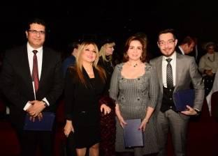 تكريم نجوم الدراما والسينما المتميزين في 2017 بمهرجان اوسكار اذاعه الشرق اﻻوسط