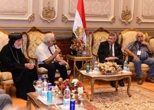 """بالصور  عمرو صدقي: مصر تعتبر إحياء مسار العائلة المقدسة """"مشروع قومي"""""""