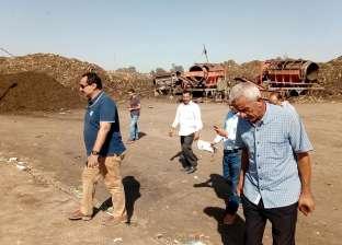 رئيس المحلة يخاطب مسئولي الإنتاج الحربي لإنهاء حصر معدات مصنع التدوير