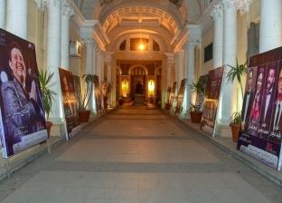 ساحة أوبرا الإسكندرية تتزين بصور فناني مهرجان الموسيقى العربية الـ27