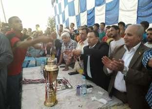 """""""الحركة الوطنية"""" ينظم الحفل الختامي لبطولة كرة القدم في المنيا"""