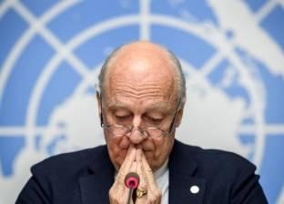 دي ميستورا: اللجنة لا تعلق على شائعات تخص الوضع في سوريا