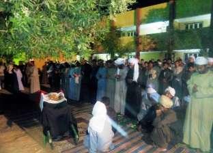 أهالي أسوان يشيعون جثماني شهيدي الواجب الوطني في العريش