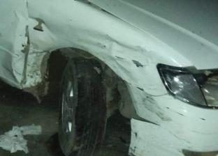 عاجل| تصادم9 سيارات بنزلة كوبري الألمان بأبيس شرق الإسكندرية