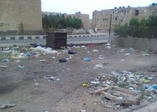 مواطنو مدينة أبو رديس يشتكون من انتشار القمامة في الشوارع