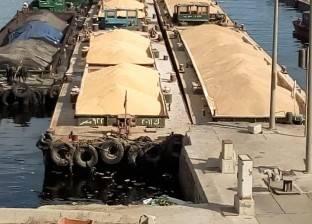"""""""النقل النهري"""": وحدتان ملاحيتان لنقل السلع إلى ميناء الإسكندرية"""
