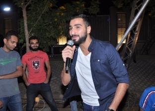 بالصور.. محمد الشرنوبي يحيي أولى حفلاته الرمضانية بالتجمع