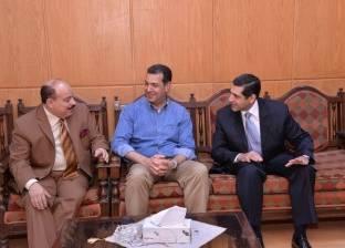 محافظ أسيوط يلتقي رئيس اللجنة العامة المشرفة على الانتخابات
