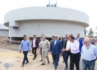 محافظ الشرقية يتفقد إنشاء محطة مياه الشرب بأبوكبير بتكلفة 230 مليون