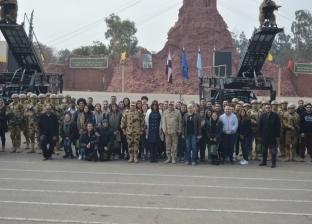 """""""الهجرة"""" تنظم زيارة لشباب المصريين بأستراليا إلى مقر قيادة الصاعقة"""