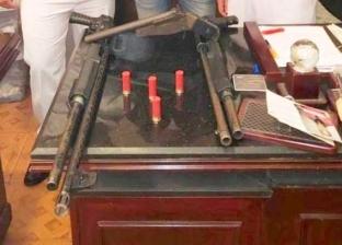 حبس 3 أشخاص بتهمة تصنيع الأسلحة بعين شمس