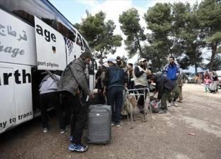 """وصول الدفعة الثانية من مهجري """"القنيطرة"""" في سوريا لمناطق المعارضة"""