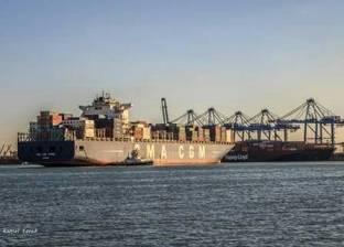 ميناء دمياط يستقبل 3 أوناش ساحة جديدة عملاقة