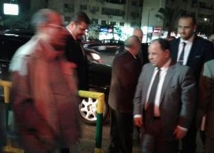 """""""معيط"""" في عزاء وزير المالية الأسبق: الاقتصاد المصري فقد أحد أهم كوادره"""