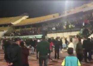 جماهير الزمالك تهاجم اللاعبين بعد التعادل مع طلائع الجيش
