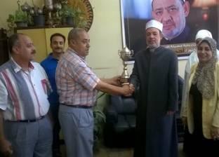 رئيس «القاهرة الأزهرية» يكرم مسؤولي رعاية الشباب بالمنطقة