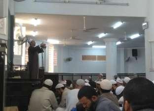 """وكيل """"أوقاف المنوفية"""" يؤدي خطبة الجمعة بعد إلغاء تصريح سعيد رسلان"""