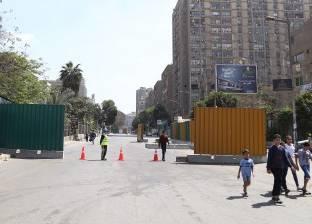 تعرف على التحويلات المرورية بعد غلق شارع أحمد عرابي جزئيا