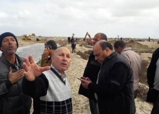 """وكيل """"ري كفر الشيخ"""": إصلاح قطع شاطئ بلطيم وإنشاء سد لمنع غرق """"الزهراء"""""""