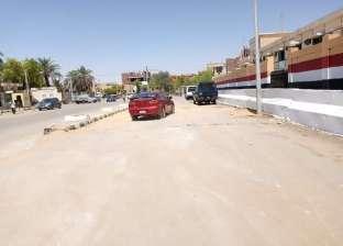 """إعادة فتح الطريق الرئيسي في """"موط"""" بالوادي الجديد"""