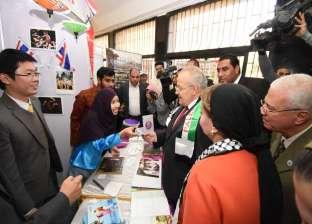 الخشت يفتتح ملتقى الثقافات الأول بجامعة القاهرة بمشاركة 12 دولة