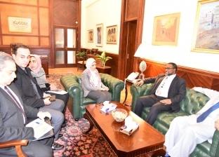 وزيرة الصحة تستقبل نظيرها السوداني لتعزيز سبل التعاون بين البلدين