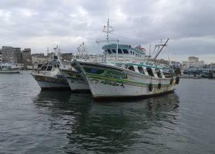 """فتح """"بوغاز"""" عزبة البرج أمام مراكب الصيد بعد إغلاقه بسبب الأحوال الجوية"""