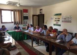"""رئاسة """"المنصورة"""" تناقش حل مشاكل ضعف المياه بـ3 قرى"""